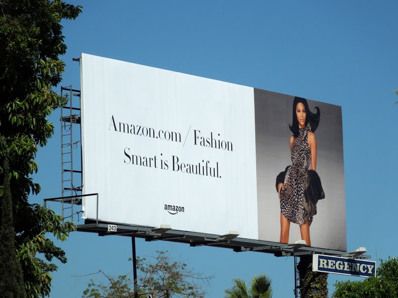 Amazon fashion smart billboard